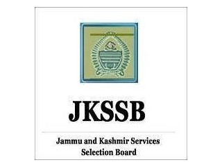 JKSSB Various Vacancy Online Form 2021