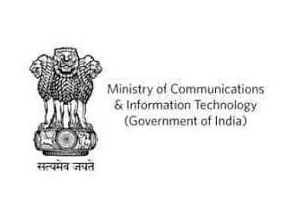 Logo Ministry Of Communication And Information Technology, Government Of India