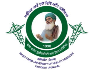 Logo Baba Farid University Of Health Science